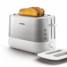 비바 콜렉션 토스터 HD-2637 [넓은 투입구 / 7단계 굽기조절 / 해동 기능 / 쿨 월 기능 / 빵 거치대]