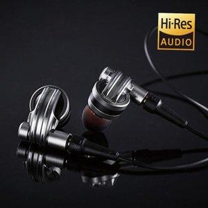 공각기동대 이어폰 EHP-SH1000SV [ 실버 / 애니매이션 작가 콜라보레이션 디자인 / 이어폰, 이어셋 케이블 교체 가능 ]