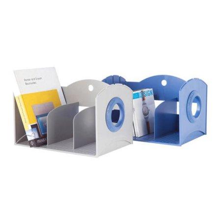심플한 사무용품 멀티책꽂이3단 42116 블루