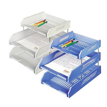 심플한 사무용품 2.5 서류받침 22125 블루