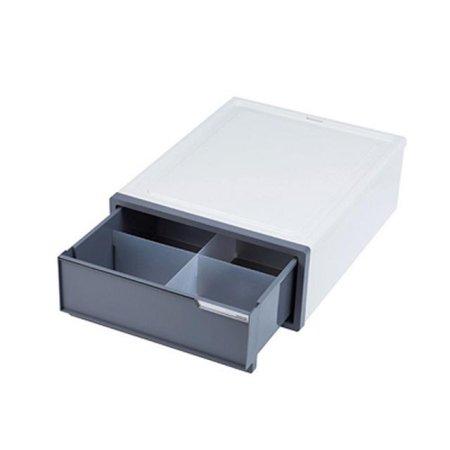 심플한 사무용품 서랍장 소형 칸막이 68050p 스모그