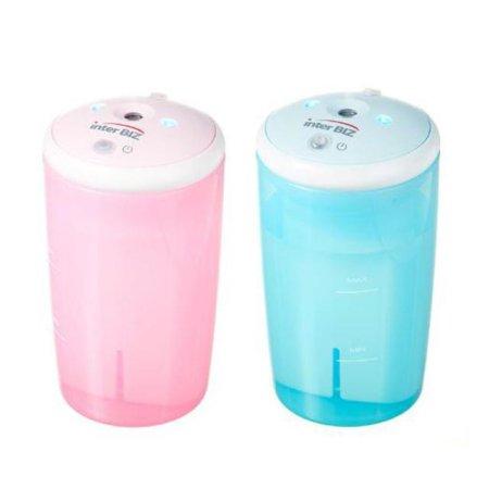 충전식 USB 가습기 차량겸용 (핑크/블루)