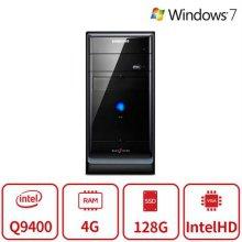 블랙에디션 데스크탑 P15시리즈 (인텔 쿼드코어 Q9400/램4G/SSD128G/Intel Graphics/DVD롬/Window7 64/복원) 리퍼