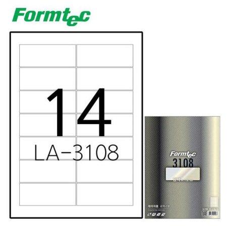 레이저 광택 라벨 LA-3108 20매입