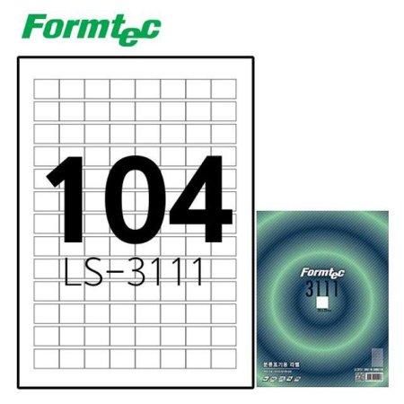 레이저잉크젯 라벨 LS-3111 100매입