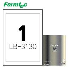 레이저 광택 라벨LB-3130 100매입