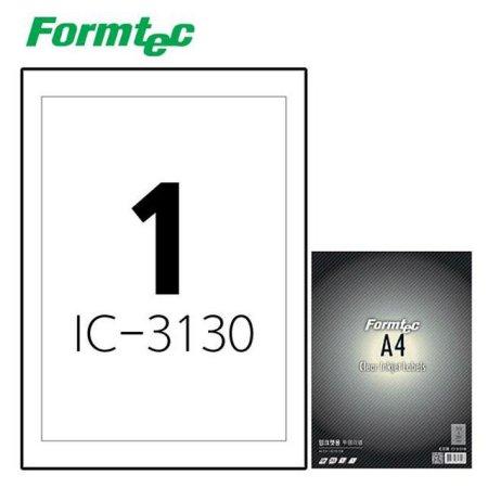 잉크젯 투명 라벨IC-3130 5매입