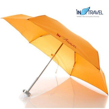 초경량 여행용3단우산 (오렌지)