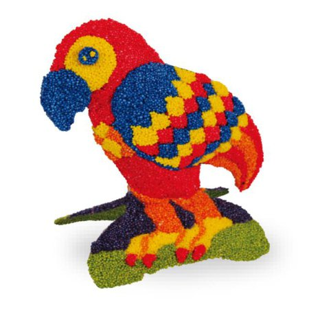 볼클레이 새 만들기 - 앵무새 1개