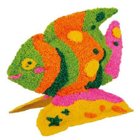 볼클레이 물고기 만들기 - 엔젤피쉬 1개