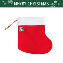 크리스마스 파티용품 장식용품 산타 양말 주머니