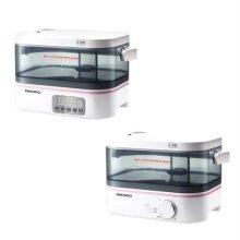 간편세척 초음파 가습기 DEH-C350 기계식 [2.5L / 저소음 / 무드램프 / 연속가습 12시간 / 다이얼방식]