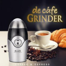 개인용 커피그라인더 DCF-G150 [150W / 1회 1잔 분량 / 스테인레스 칼날 / 원버튼 조작 / 투명뚜껑]