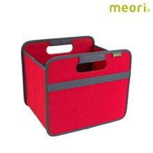 폴더형수납박스(S) MEORI-A100062 [ 레드 / 접어서 보관 가능 / 방수, 방염 / 스펀지로 세척 가능 ]