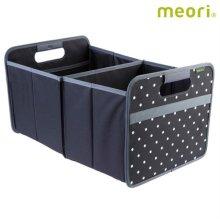 폴더형수납박스(L) MEORI-A100003 [ 블랙도트 / 접어서 보관 가능 / 방수, 방염 / 스펀지로 세척 가능 ]