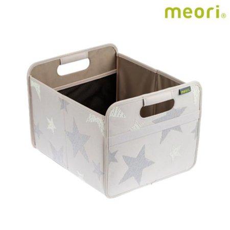 폴더형수납박스(M) MEORI-A100108 [ 그레이 / 접어서 보관 가능 / 방수, 방염 / 스펀지로 세척 가능 ]