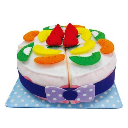 감성완구_ 푹신 헝겊 케이크 1개 [하이마트]