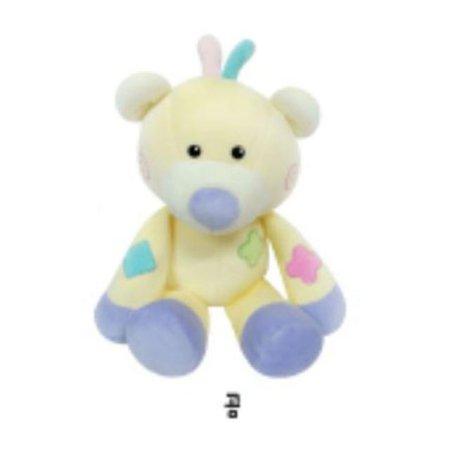 유아용 감성완구 영유아인형_동물인형(대)_곰 1개 [하이마트]