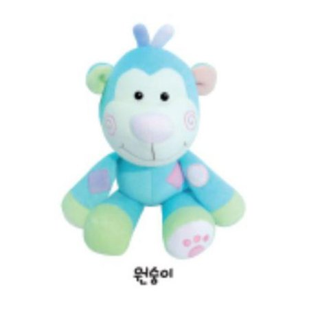 유아용 감성완구 영유아인형_동물인형(대)_원숭이 1개 [하이마트]