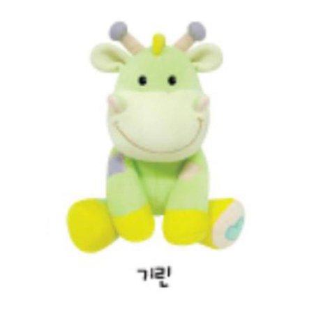 유아용 감성완구 영유아인형_동물인형(소)_기린 1개 [하이마트]