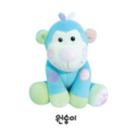 유아용 감성완구 영유아인형_동물인형(소)_원숭이 1개 [하이마트]