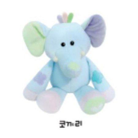 유아용 감성완구 영유아인형_동물인형(소)_코끼리 1개 [하이마트]