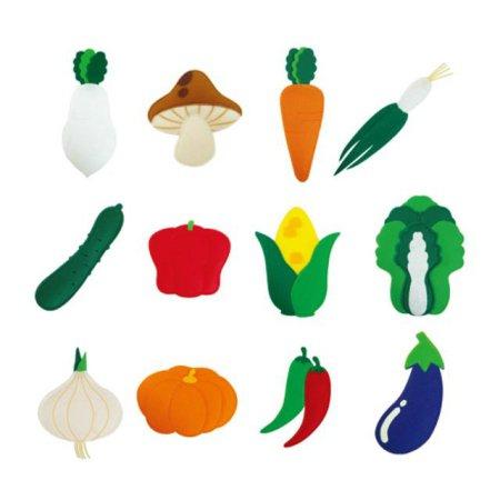 유아 교육자료 야채류(12종) 1set