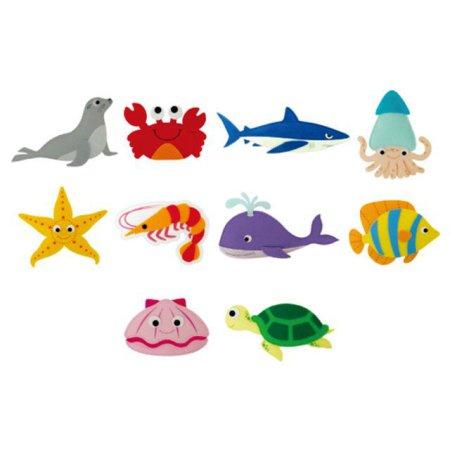유아 교육자료 바다생물(10종) 1set