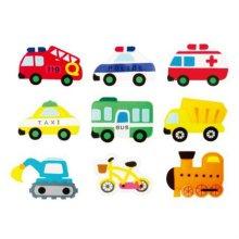 유아 교육자료 육상교통(9종) 1set