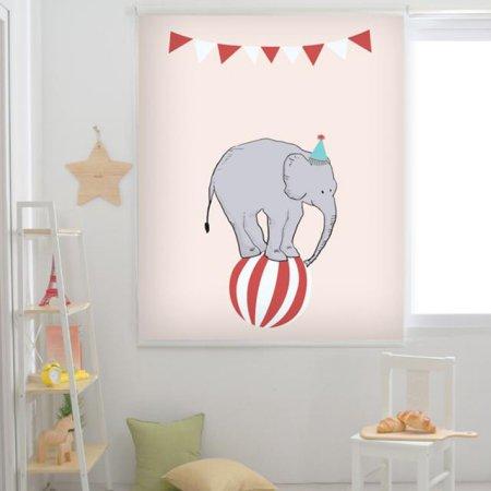 코끼리 서커스단 :암막 95x190