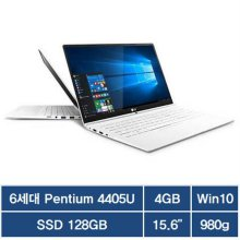 39.6cm 노트북 그램 15Z960-LR10K [6세대 팬티엄 4405U / 4GB / SSD 128GB]