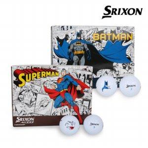 던롭스릭슨 New AD333 배트맨/슈퍼맨 골프공(12알/2피스)/골프용품/필드용품