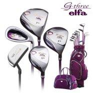 G-Three 다이와 ELFA 초경량 고탄성 여성용 풀세트(12pcs)골프클럽