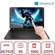 F터치 노트북 A8시리즈 (A8-7410/4G/500G/라데온R5/DVD멀티/15인치/Win10) 리퍼