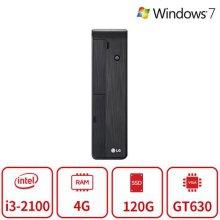 블랙슬림 게이밍 데스크탑 Z5시리즈 (코어i3-2100/4G/SSD120G/GT630/DVD/Win7) 리퍼