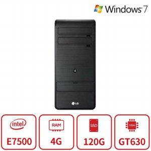 블랙에디션 데스크탑 B5MS시리즈 (E7500/4G/SSD120G/GT630/DVD멀티/Win7) 리퍼