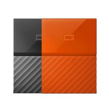MY PASSPORT [ 외장HDD / 4TB / 오렌지 / USB3.0(USB2.0 사용가능) / 암호화기능, 백업기능 / A/S 3년 ]