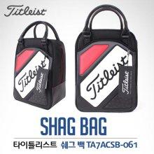 [2017년신제품]타이틀리스트 아쿠시넷코리아정품 골프화 Shag Bag 슈즈백(TA7ACSB)