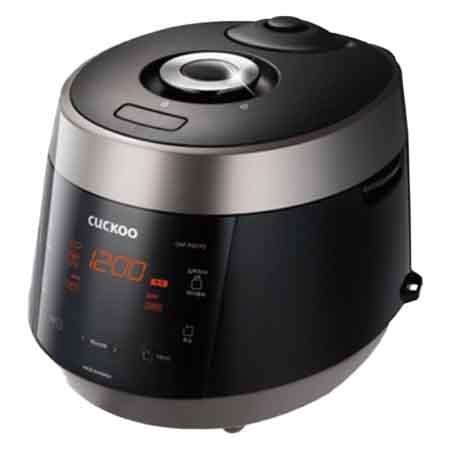 6인용 열판압력밥솥 CRP-P0610FD [풀스테인리스 분리형커버 / 음성안내 / 1등급]