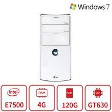 화이트에디션 데스크탑 B15시리즈 [인텔 코어2  1f79 울프데일 E7500 / 4GB / SSD 120GB / 지포스 GT630]