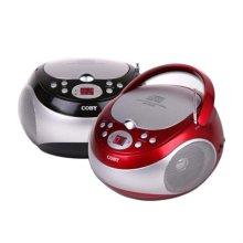 CD카세트 MP-CD371 [ 레드/ ED 트랙 안내 표시/FM 라디오 기능 ]