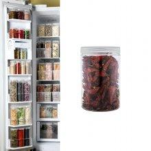 냉장고수납용기 원형 특하프 1개