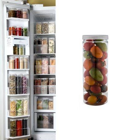 냉장고수납용기 원형 대(1호) 1개