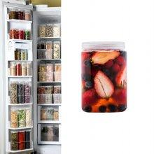 냉장고수납용기 사각하프 1개