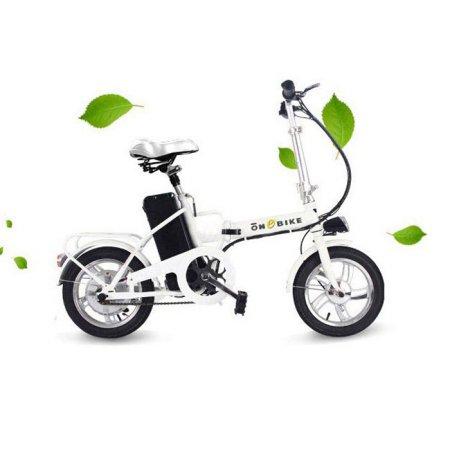 접이식 국민 전기자전거 패션 16 화이트(리튬이온배터리)