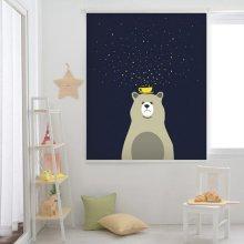 곰과 별 롤스크린(R617)