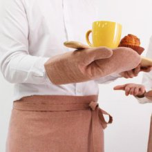 베이직 오븐장갑 - 오렌지