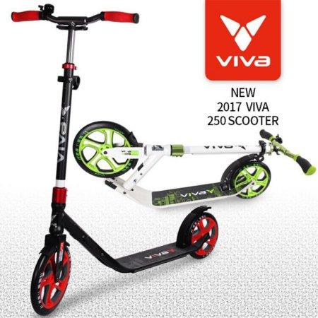 비바 성인용 빅 휠 250mm(NL900-250)_블랙/레드