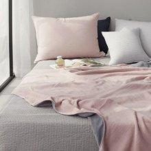 투톤 피그먼트 여름이불 - 핑크 S(110*135) 1장
