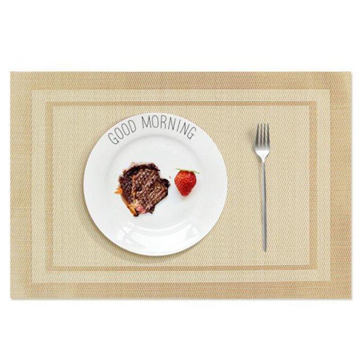히키스 레스토랑 카페 플레이팅 인테리어 다이닝 테이블 매트 블랙 [하이마트]